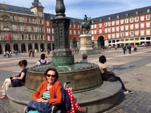 Mom in Madrid